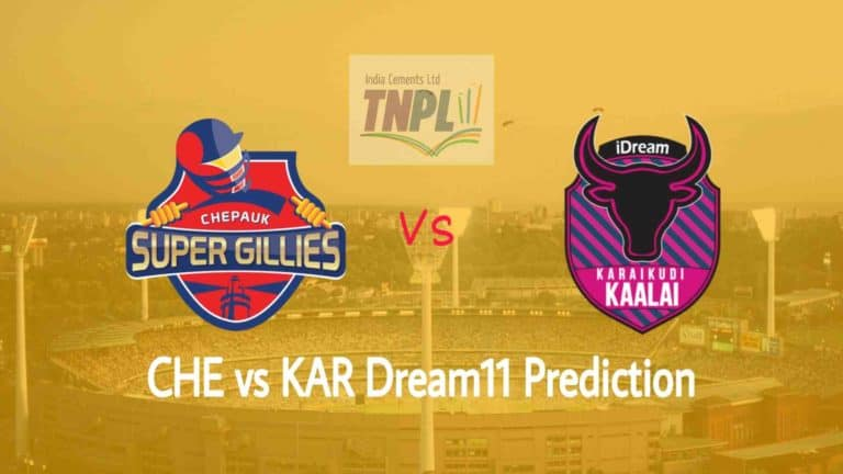 CHE vs KAR Dream11 Team Prediction