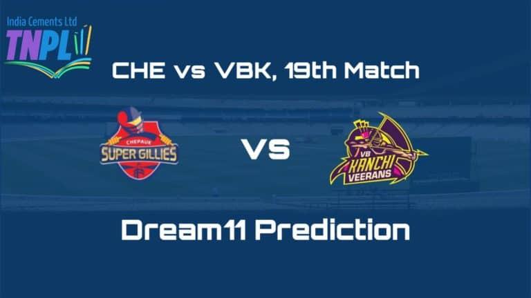 CHE vs VBK Dream11 Team Prediction