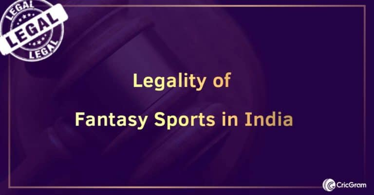 Legality of fantasy sports in India