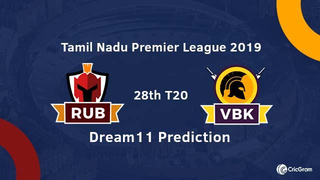 RUB vs VBK Dream11 Team Prediction
