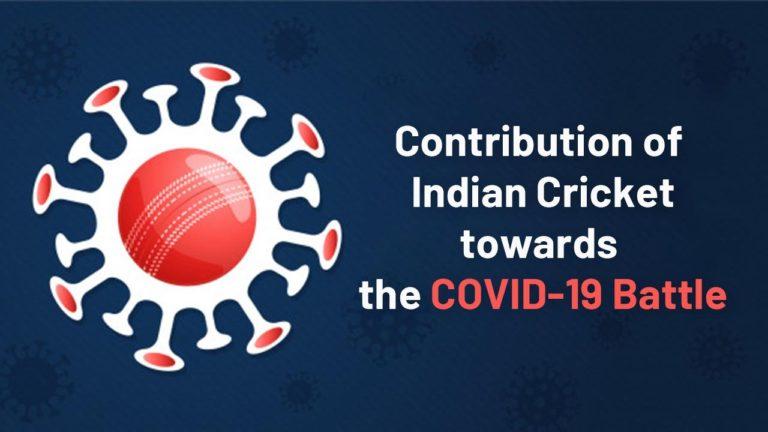 Indian Cricketers donation to fight Coronavirus