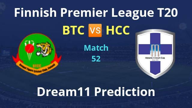 BTC vs HCC Dream11 Prediction and Match Preview