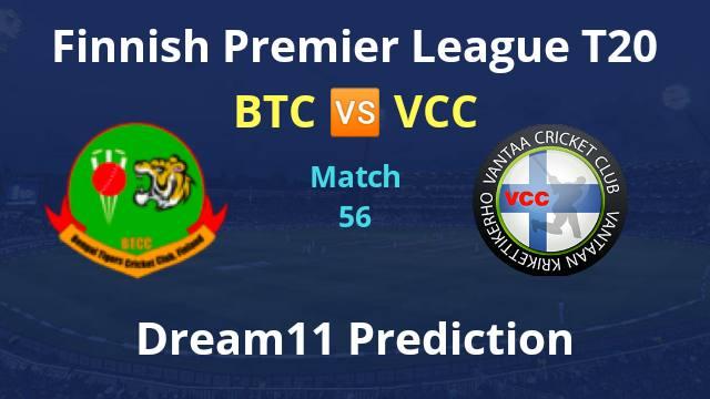 BTC vs VCC Dream11 Prediction and Match Preview
