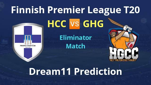 HCC vs GHG Dream11 Prediction and Preview Eliminator Match