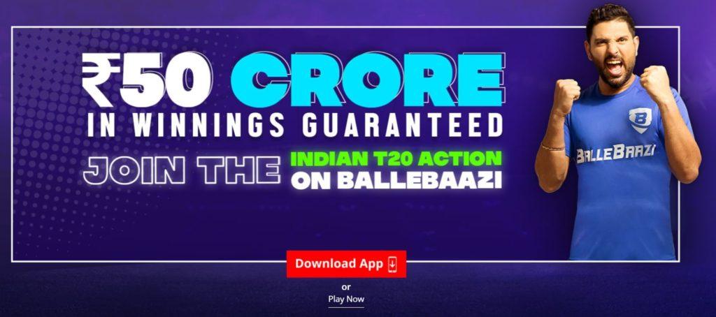 How to download BalleBaazi App