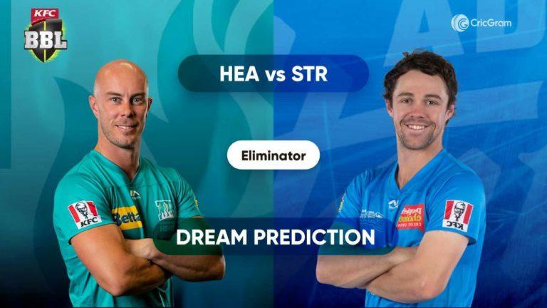 HEA vs STR Dream11 Prediction