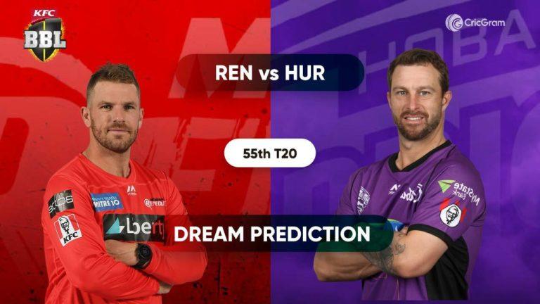 REN vs HUR Dream11 Prediction