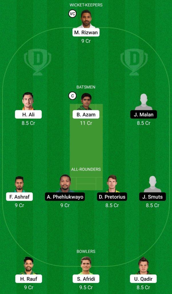 PAK vs SA Dream11 Team 3rd T20I