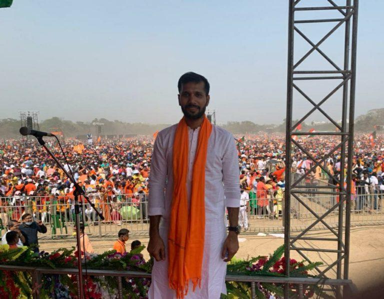 Ashok Dinda Joins BJP