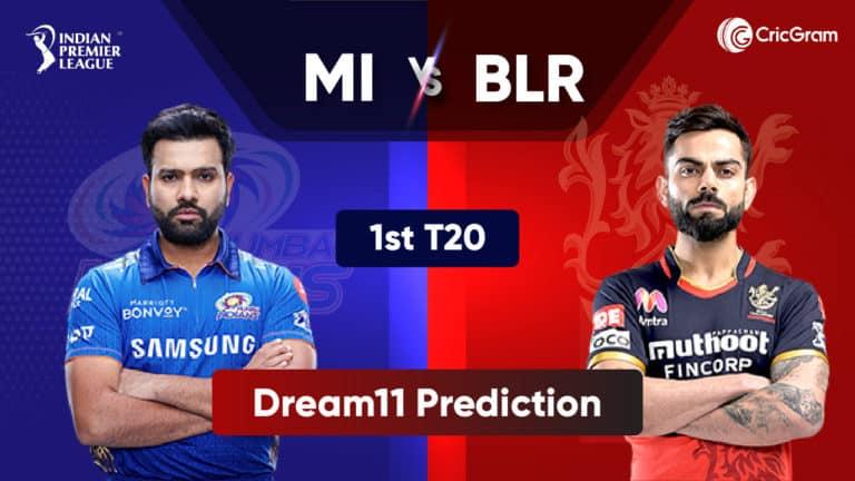 MI vs RCB Dream11 Prediction 2021