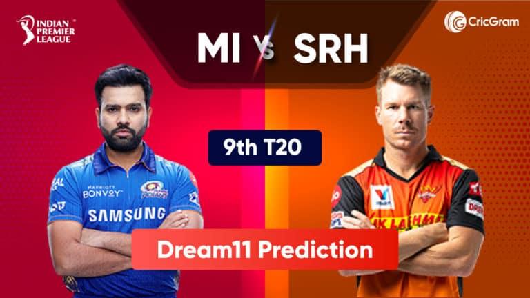 MI vs SRH Dream11 Prediction IPL 2021