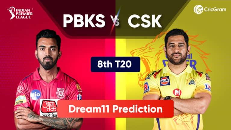 PBKS vs CSK Dream11 Prediction IPL 2021