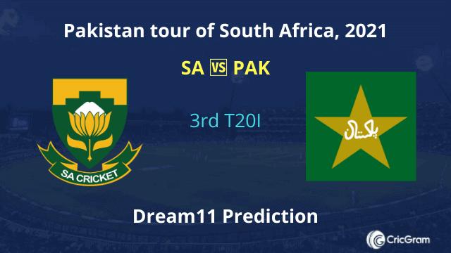 SA vs PAK Dream 11 Team Prediction