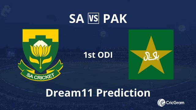 SA vs PAK Dream11 Prediction 1st ODI