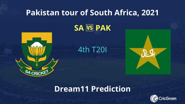 SA vs PAK Dream11 Team Prediction