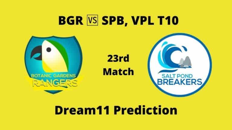 BGR vs SPB Dream11 Prediction