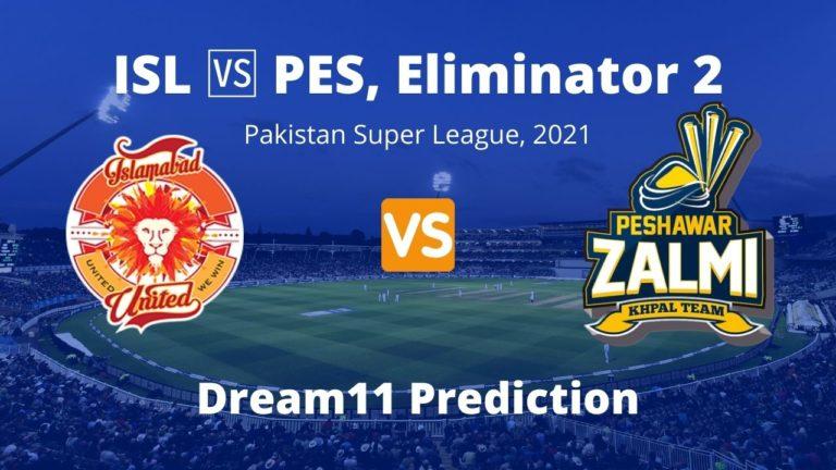ISL vs PES Dream11 Prediction Eliminator 2 PSL 2021