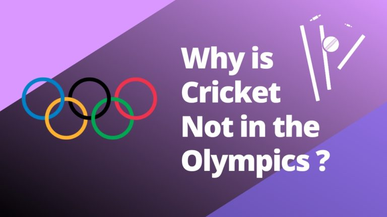 Cricket not in the Olympics