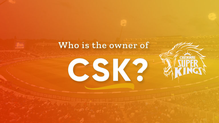 Who is CSK Owner
