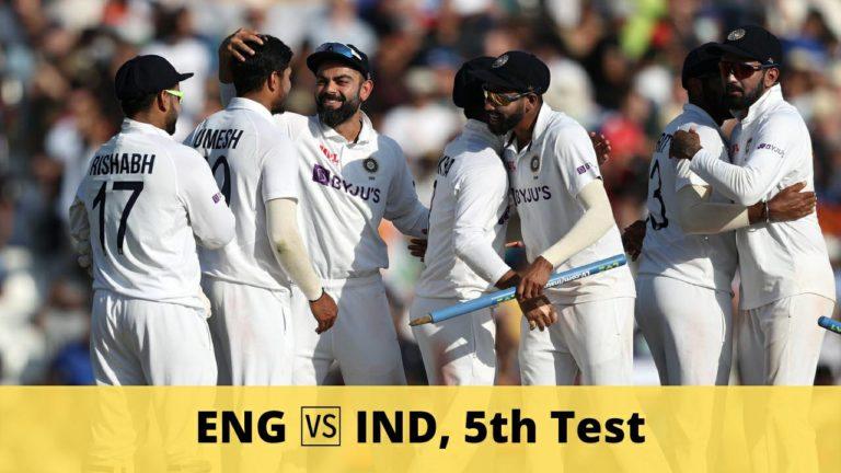 ENG vs IND Dream11 Team Prediction 5th Test