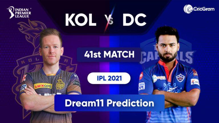 KOL vs DC Dream11 Team Prediction IPL 2021 28th September 2021