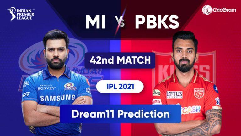 MI vs PBKS Dream11 Team Prediction IPL 2021 28th September 2021