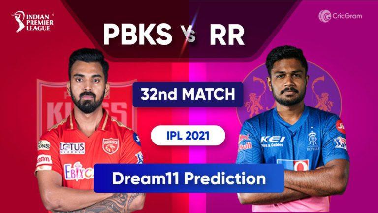 PBKS vs RR Dream11 Team Prediction IPL 2021 21st September 2021