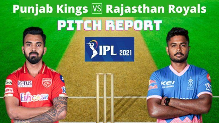 PBKS vs RR Pitch Report IPL 2021
