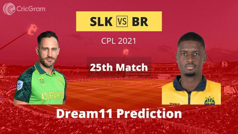 SLK vs BR Dream11 Prediction CPL 2021