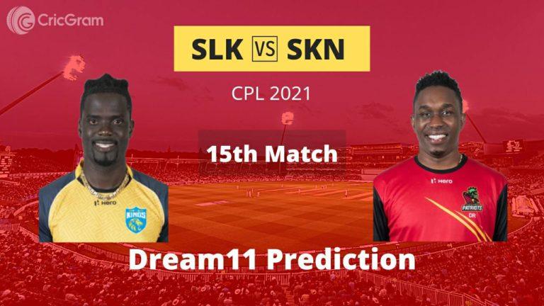 SLK vs SKN Dream11 Prediction CPL 2021 4th September 2021