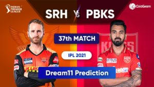 SRH vs PBKS Today Match Prediction Dream11 Team IPL 2021 25th September 2021