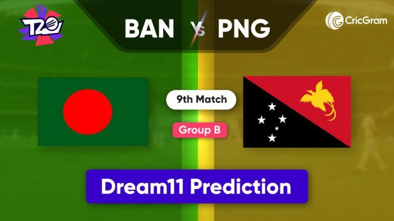 BAN vs PNG Dream11 Team Prediction