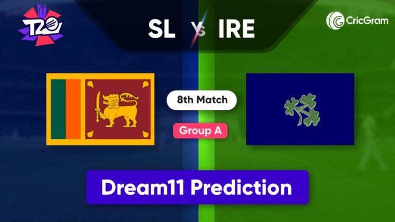 SL vs IRE Dream11 Team Prediction